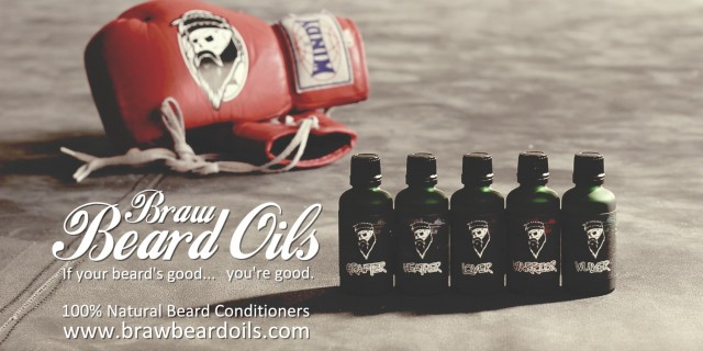Braw Beard Oils Promo