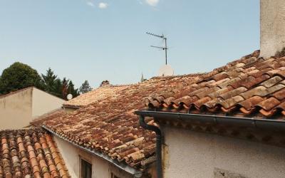 Flying cameras in Nérac
