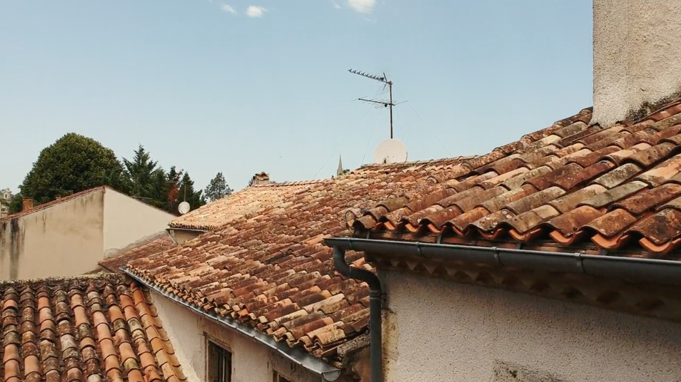 Flying cameras in Nérac
