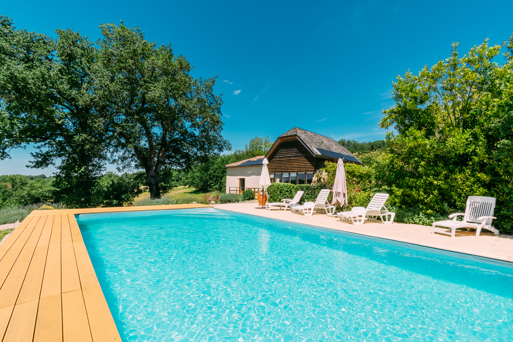 Property photographed by Colin Usher in South West France